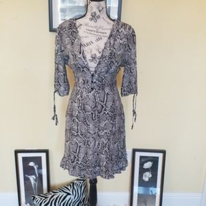 Justfab Fit and Flair Dress